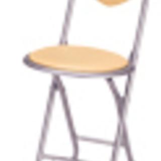 ハートの収集家さん集合!★ハート型背もたれ 折りたたみ椅子…