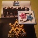 EXILE☆ライブパンフとグッズ