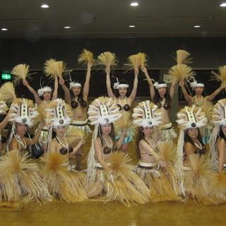 越谷で、タヒチアンダンス!世界一周...