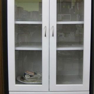 食器棚 中古 白