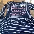 女の子140長Tシャツ