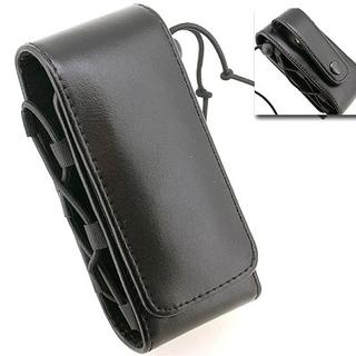 本革フラットマグネット式MOBILE CASE(ブラック/…