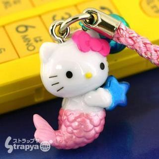 ハローキティ☆12星座根付携帯ストラップ(うお座)7928...