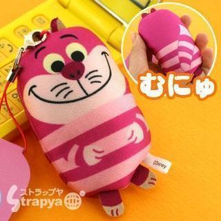 ディズニー☆にぎにぎマスコット携帯ストラップ(チシャ猫)