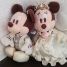 ウェディング(ドレス)ミッキー&ミニー