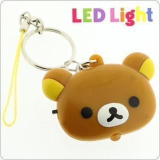 リラックマ フェイス型LEDライト携帯ストラップ(リラックマ)