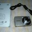 デジカメ  PENTAX optio e80