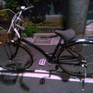 パンクした自転車あります!外におきっぱなしです