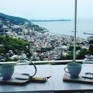 海のみえるお洒落なカフェ