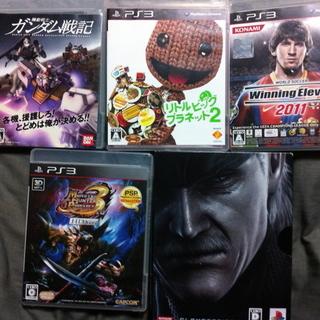 PS3ソフト人気タイトル5本セット!!!