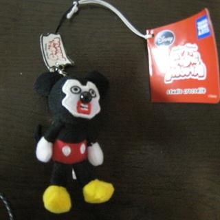 ミッキー&フレンズ キュービックマウスのストラップ