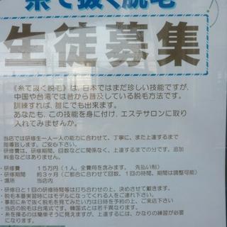 エステティシャン必見の台湾式脱毛法 浦島丘