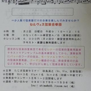 かなっくホールで弦楽器を学びませんか