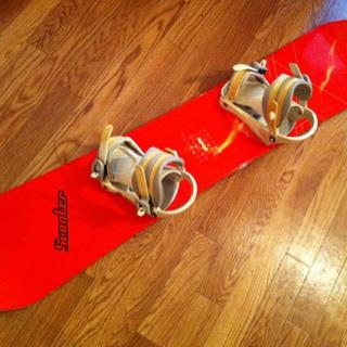 スノーボード ビンディング付  140cm circular