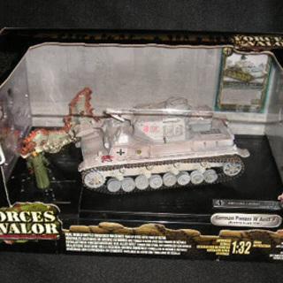 ユニマックス 1/32 IV号戦車 F型 ドイツ軍 東部戦…