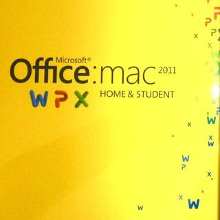 Mac用のMicrosoft Office2011 (3人…