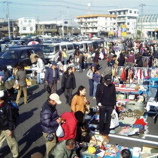 2011年12月04日(日)開催!船橋競馬場フリーマーケット