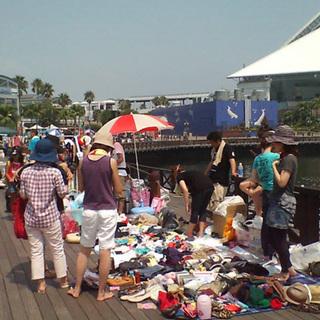 2012年01月02日(月)開催!横浜・八景島シーパラダイスフリーマーケット - フリーマーケット