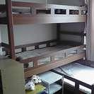 3段ベッドを譲ります