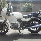 BMW R100RS モノサス 白
