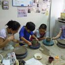 親子陶芸教室♪♪ - ものづくり
