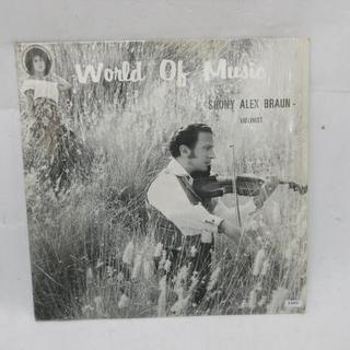 レコード SHONY ALEX BRAUN/WORLD OF M...
