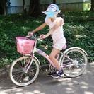 子供自転車サイモト20センチピンク登録日H22年8月