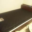 ニトリ購入 セミダブル収納付きベッド一式 ほぼ新品