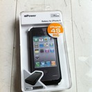 aigo iPhone4S・4専用バッテリーケース 新品未…