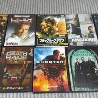 【終了】洋画DVD いろいろ10本!