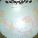 キティちゃんのCDプレイヤー