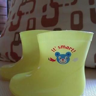 黄色い雨靴