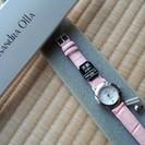 天然ルビー 腕時計の画像