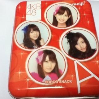 AKB48 セブンイレブン チョコ缶ケース チームA