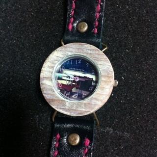 懐かしき青春の教室☆ハンドメイド腕時計
