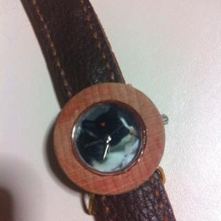 世界で一つのハンドメイドの腕時計☆彡