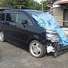 不動車、事故車、放置車、引き取り処分します。