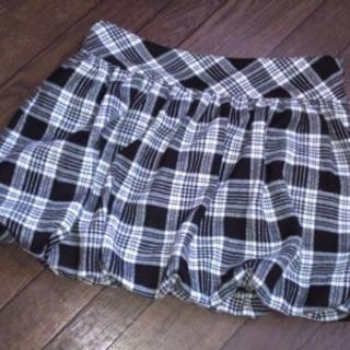 ji'maxx チェックバルーンスカート