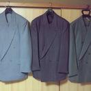 ダブルのスーツ売ります。