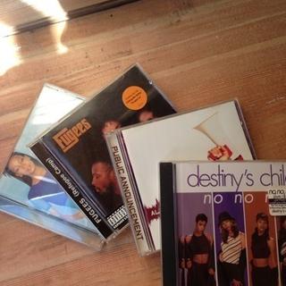 90年代R&BのCD、いろいろ4枚組