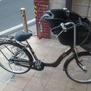 前子供乗せ自転車 ほぼ新品   交渉中の為、決まり次第終了