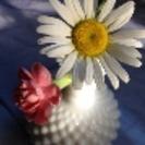 ミルクガラス花瓶
