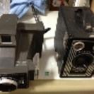 アンティークカメラ2台
