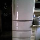 【終了】【無料】HITACHI 冷蔵庫4ドア 370リットル R-37MVPの画像