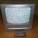 テレビデオ 14型 SHARP 2000年製