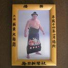 大相撲優勝額のミニチュア版