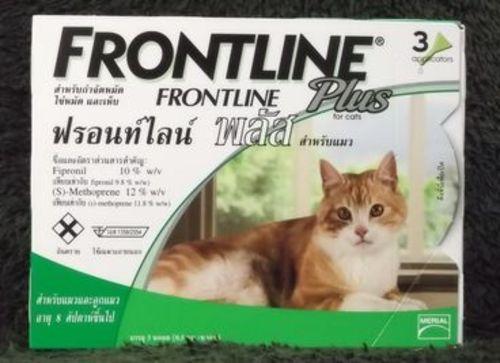 フロント ライン プラス 猫