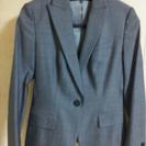 【終了】INEDのスーツ3点セット(グレー/ジャケット、パ…