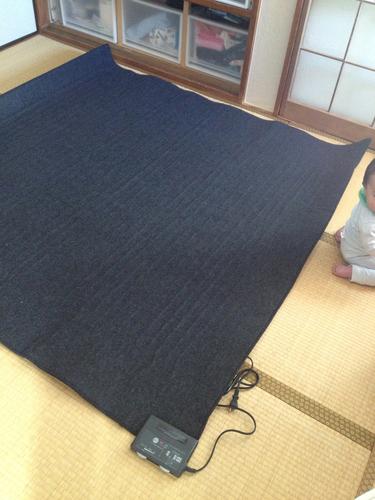 【終了】無印良品☆MUJI☆ホットカーペット☆2畳用☆176