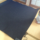 【終了】無印良品☆MUJI★ホットカーペット☆2畳用☆176×176cm★使用期間1ヶ月未満の画像